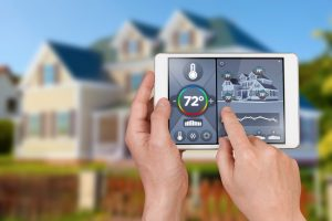 wireless-smart-thermostat-controlled-outside-house